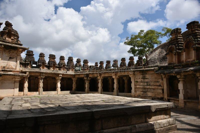 Monumenti forti di Chitradurga e rovine, il Karnataka fotografia stock