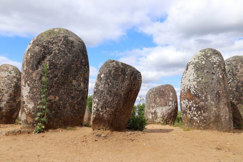 Monumenti neolitici fotografia stock