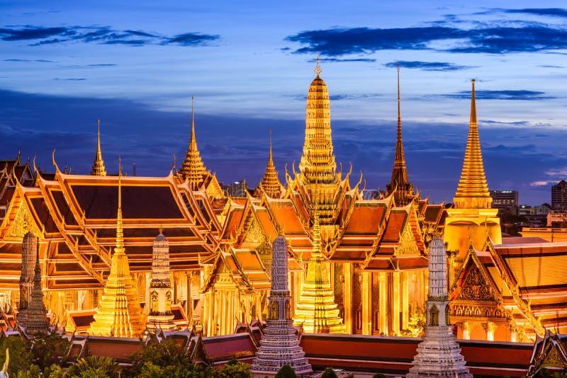 Monumenti storici di Bangkok Tailandia immagini stock