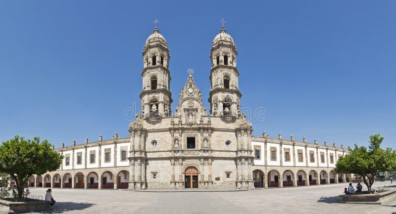 Monumenti turistici della città di Guadalajara immagine stock libera da diritti