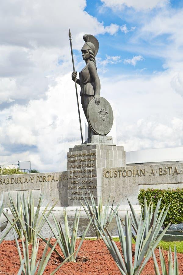 Monumenti turistici della città di Guadalajara fotografie stock libere da diritti