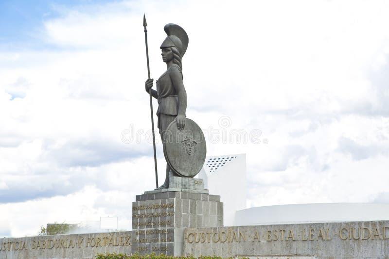 Monumenti turistici della città di Guadalajara immagine stock