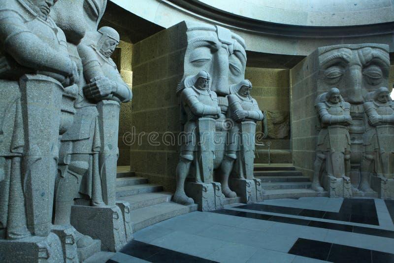 Monumento à batalha das nações em Leipzig, Alemanha fotografia de stock royalty free