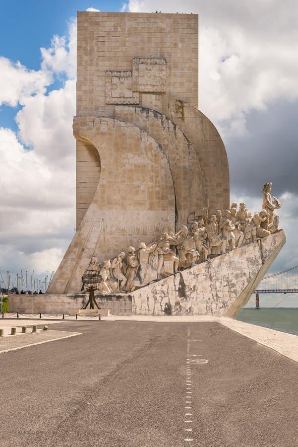 Monumento às descobertas (dos Descobrimentos de Padrao) imagens de stock royalty free