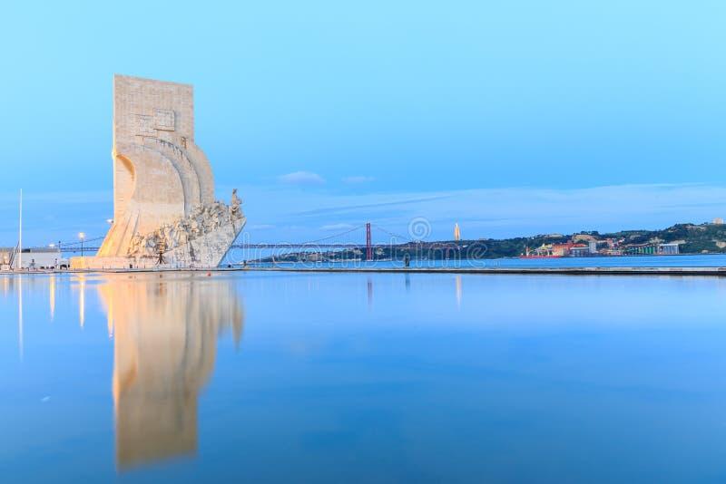 Monumento às descobertas, Lisboa, Portugal imagem de stock royalty free
