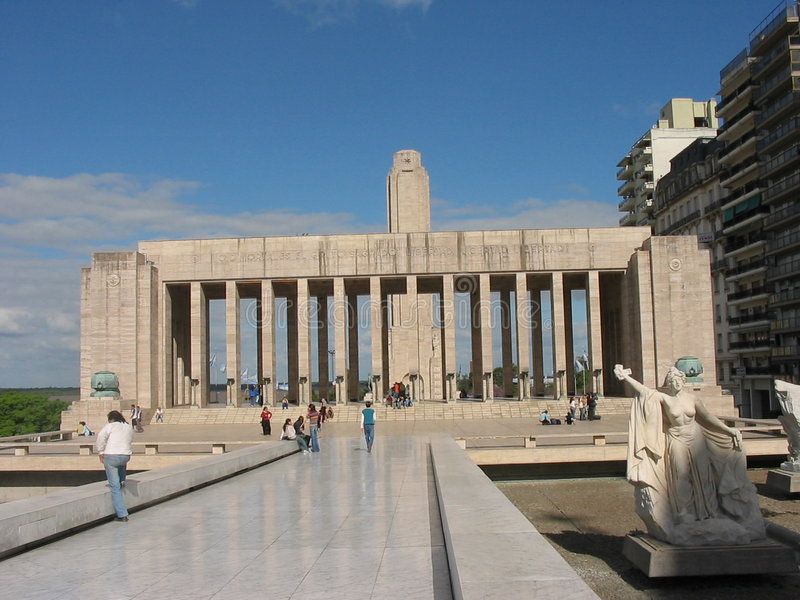 monumento Λα bandera στοκ φωτογραφία με δικαίωμα ελεύθερης χρήσης