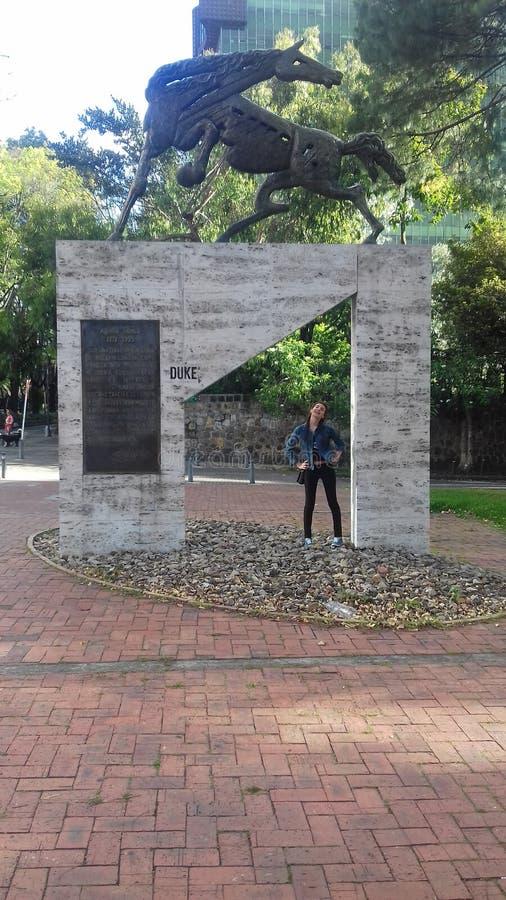 Monumento arkivfoton