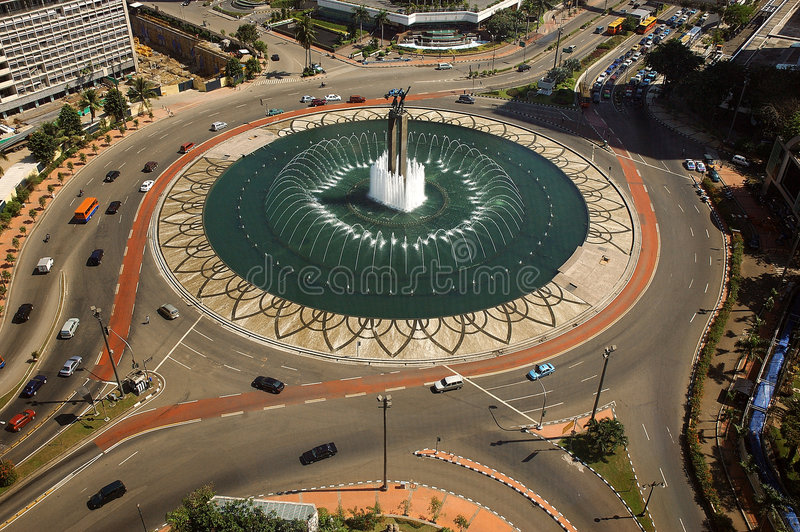 Monumento agradable imagen de archivo