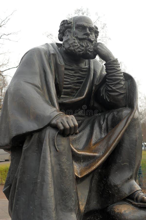 Monumento al apóstol Peter fotografía de archivo libre de regalías