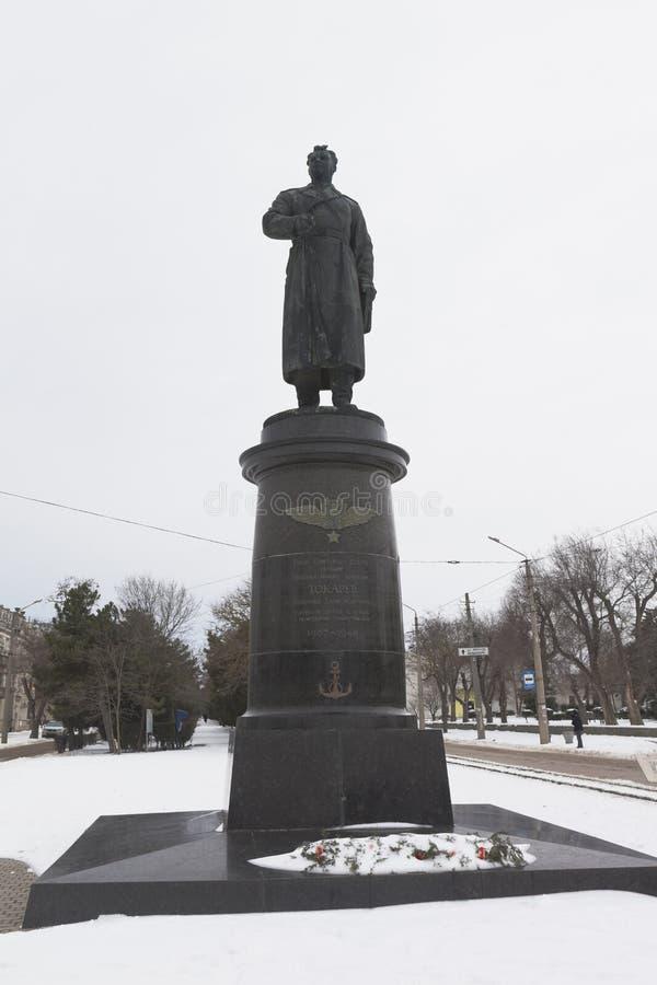 Monumento al héroe de la Unión Soviética, Principal-general de Aviat imagen de archivo libre de regalías