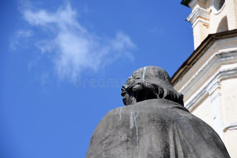 Monumento a Alexander Nevsky en Vladimir, Rusia imágenes de archivo libres de regalías