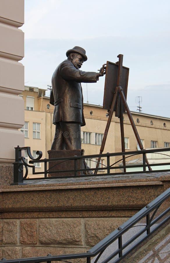 Download Monumento all'artista immagine stock. Immagine di arte - 30828603