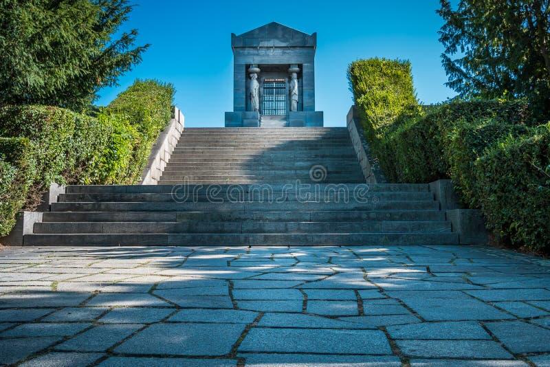 Monumento all'eroe sconosciuto, Serbia fotografia stock libera da diritti