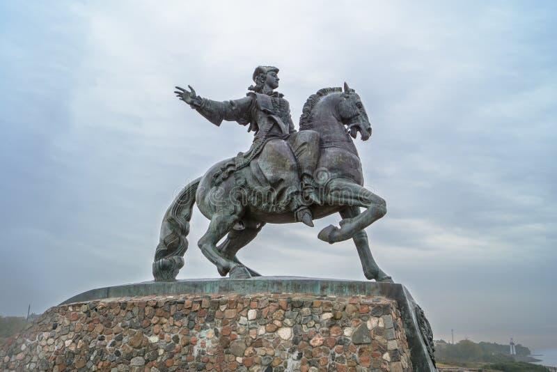 Monumento all'imperatrice Elizabeth, BALTIYSK fotografia stock