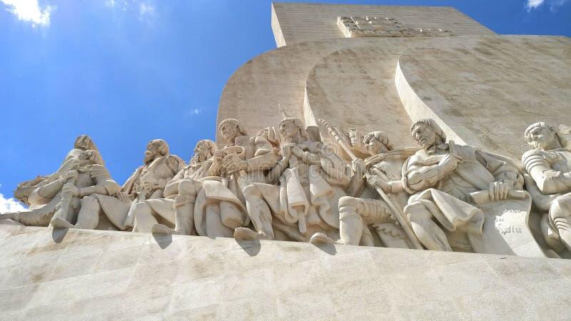 monumento alla scoperta immagine stock libera da diritti