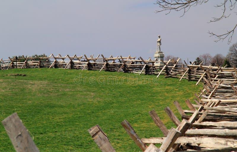 Monumento alla 130th fanteria della Pensilvania immagine stock