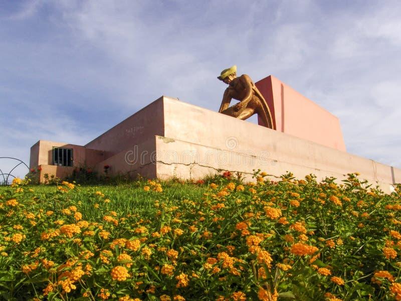 Monumento ao mineiro imagens de stock royalty free