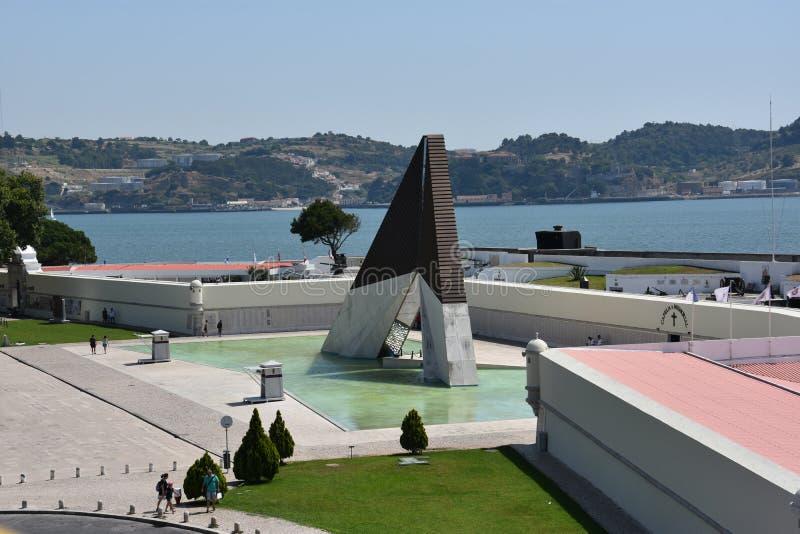 Download Monumento Aos Combatentes Gör Ultramar På Belem I Lissabon, Portugal Redaktionell Foto - Bild av skydd, heder: 76701920