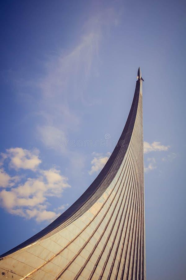 Monumento aos conquistadores do espaço fotos de stock royalty free