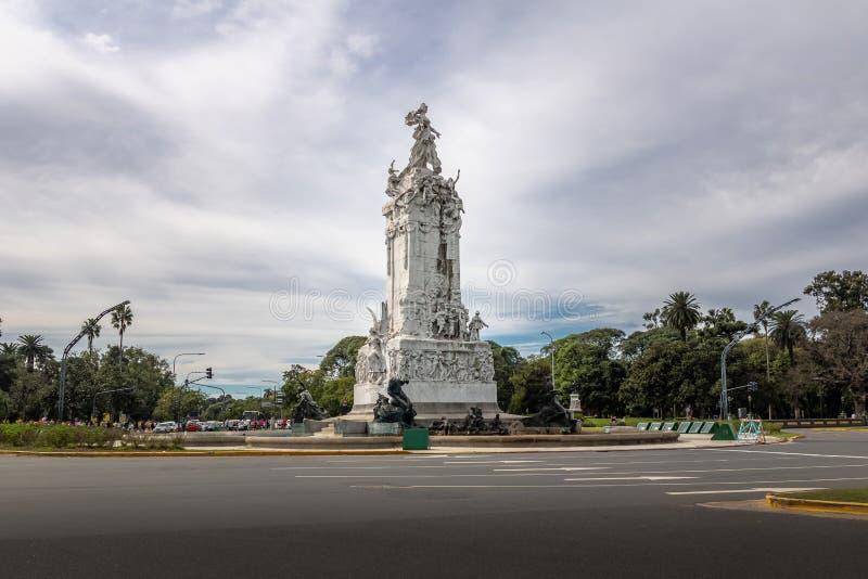Monumento aos espanhóis Monumento de los Espanoles em Palermo - Buenos Aires, Argentina fotografia de stock royalty free