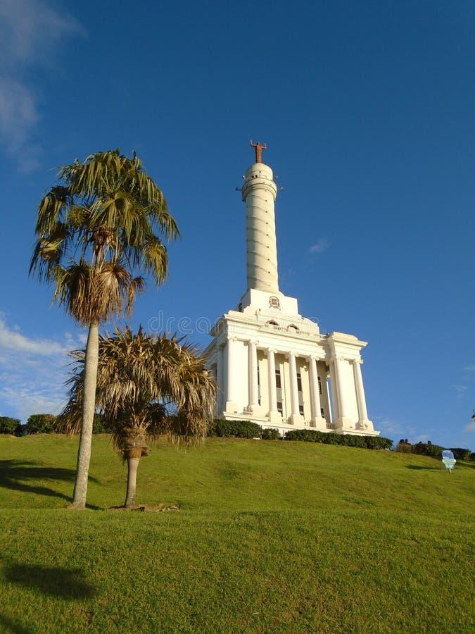 Monumento aos heróis do Santiago da restauração, República Dominicana imagens de stock