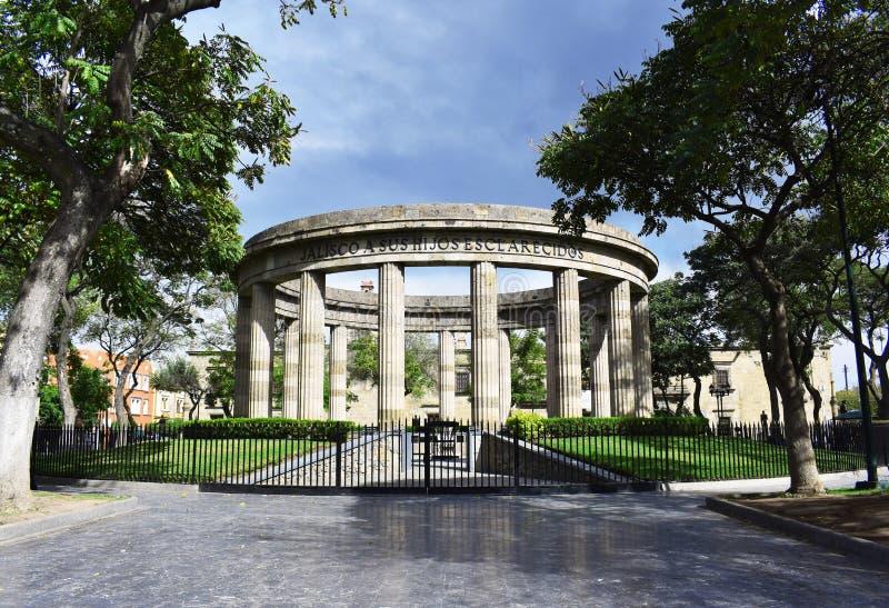 Monumento arrotondato immagini stock libere da diritti