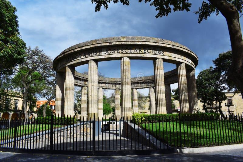 Monumento arrotondato fotografia stock