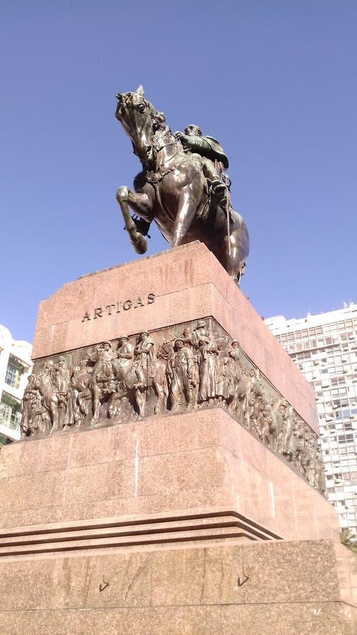 Monumento a Artigas imagens de stock