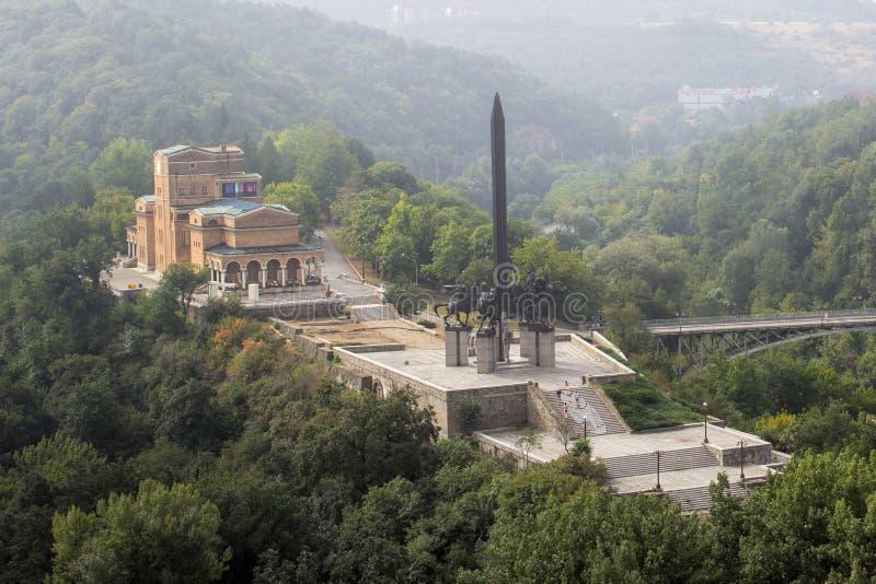 Monumento a Asen Dynasty fotografia de stock royalty free