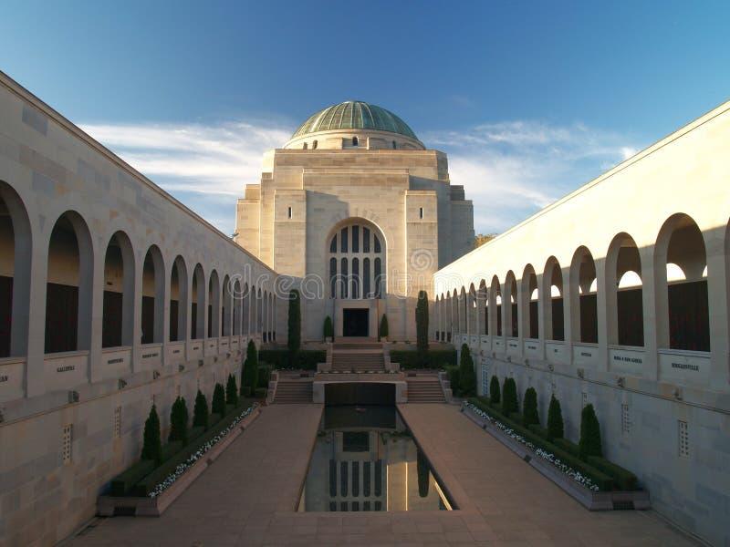 Monumento australiano de la guerra fotografía de archivo libre de regalías