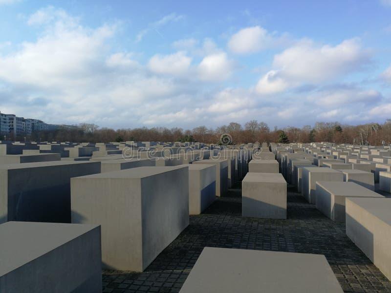 Monumento Berlín de Holocust imagen de archivo