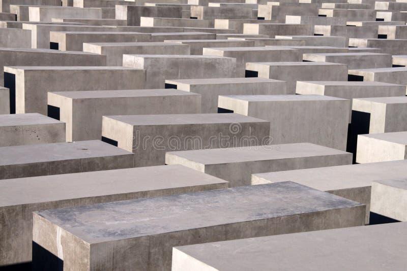 Monumento Berlín del holocausto fotos de archivo libres de regalías