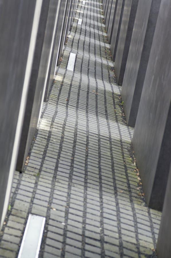 Monumento Berlín del holocausto foto de archivo libre de regalías