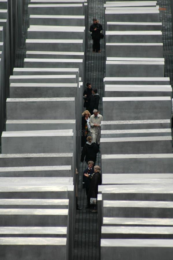 Monumento Berlín del holocausto fotografía de archivo libre de regalías