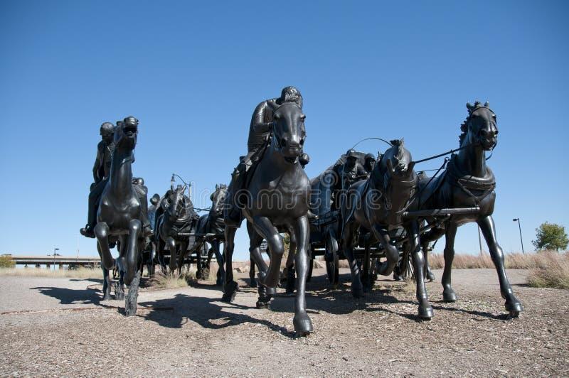 Monumento centenario de la corrida de la pista fotos de archivo libres de regalías