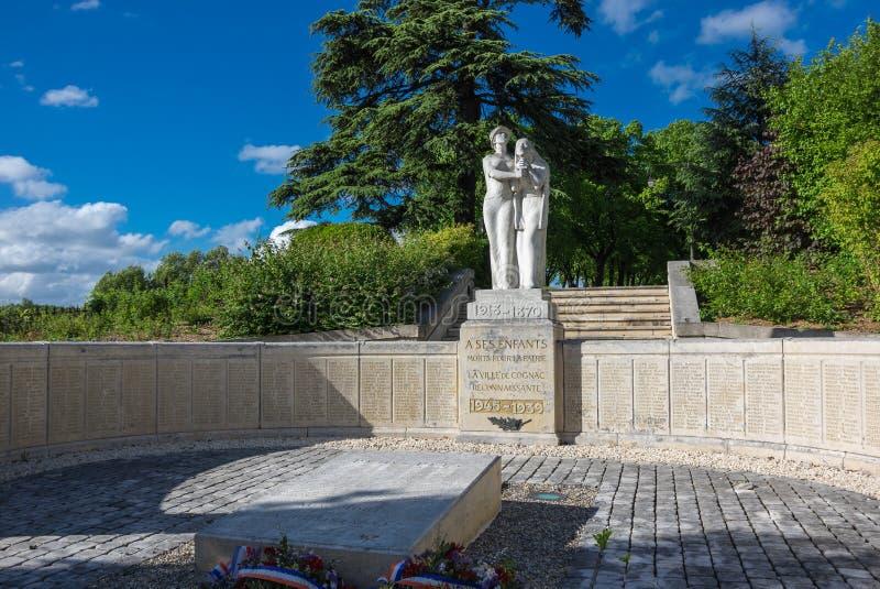Monumento in cognac immagine stock libera da diritti