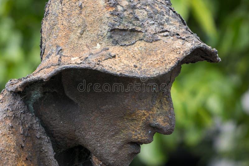 Monumento conmemorativo del hambre en Dublín, Irlanda fotos de archivo