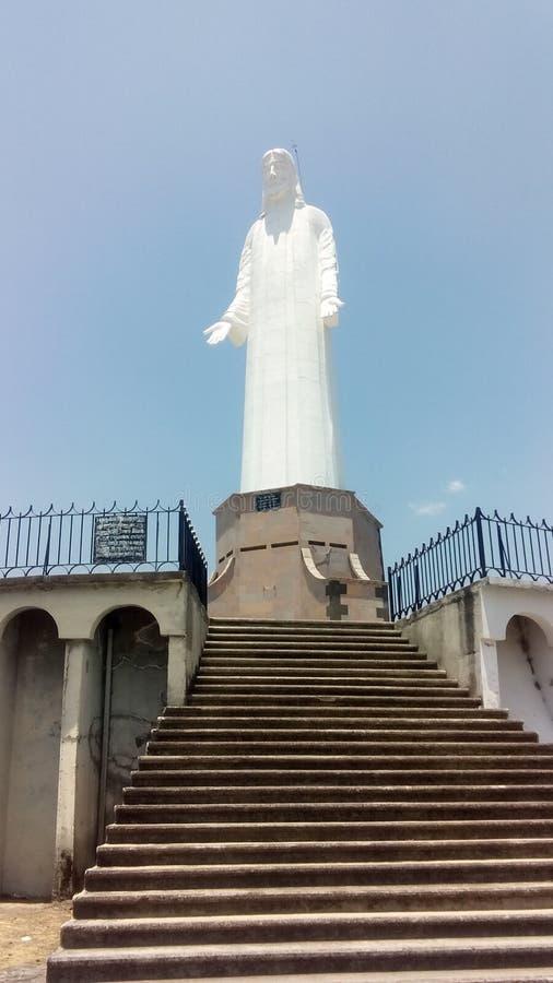 Monumento a Cristo Rey fotos de archivo