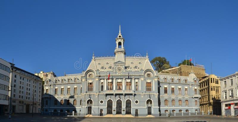 Monumento da armada do Chile, Valparaiso imagem de stock