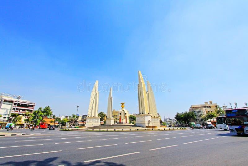 Monumento da democracia, Banguecoque, Tailândia imagem de stock royalty free