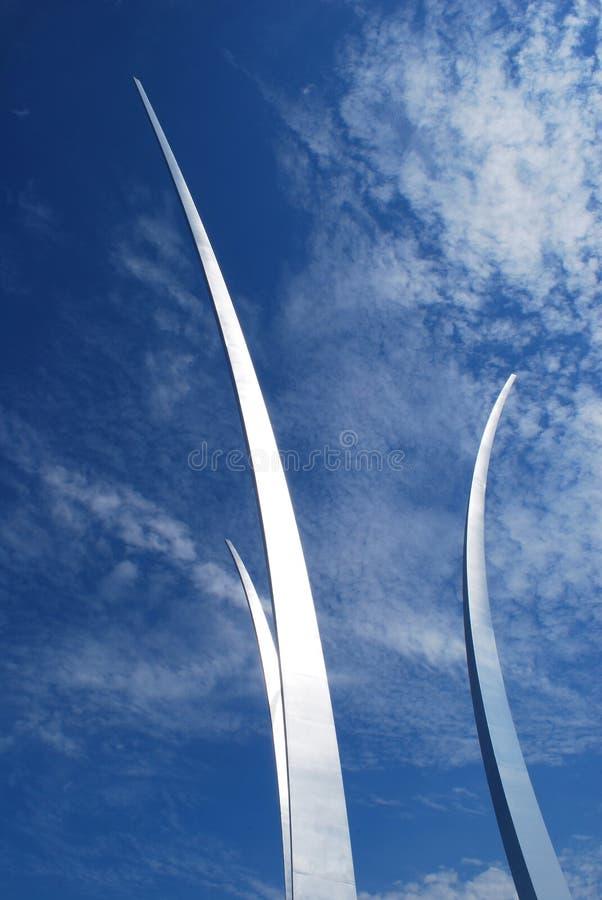 Monumento da força aérea - Washington DC imagem de stock royalty free