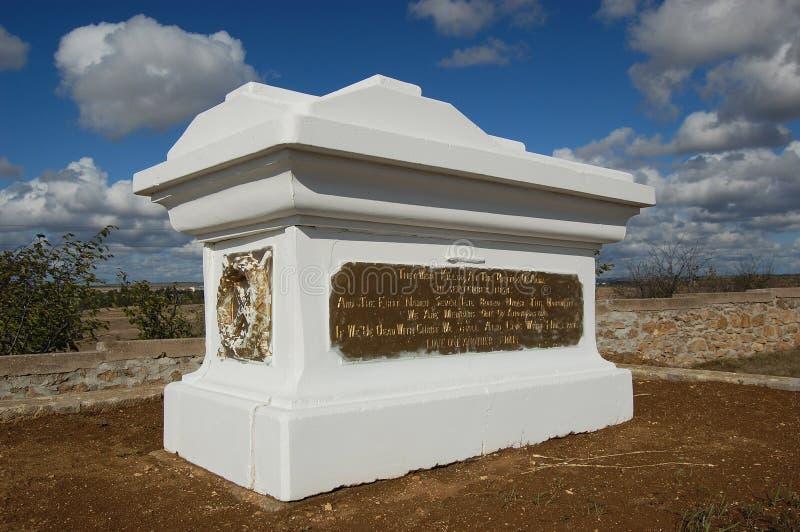 Monumento da guerra crimeana no campo de Alma imagem de stock