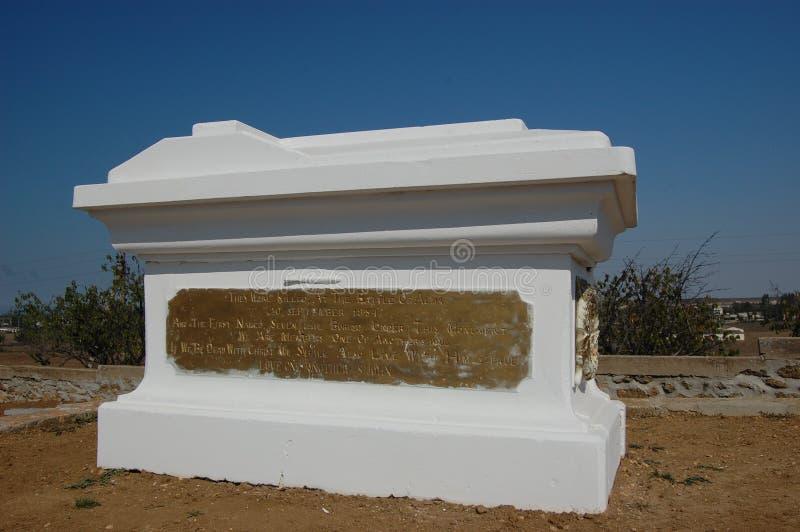 Monumento da guerra crimeana no campo de Alma fotografia de stock royalty free