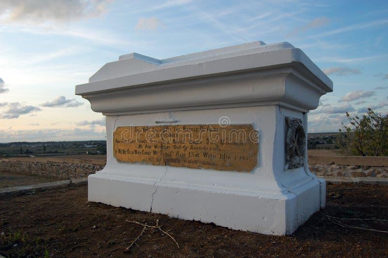 Monumento da guerra crimeana no campo de Alma fotos de stock