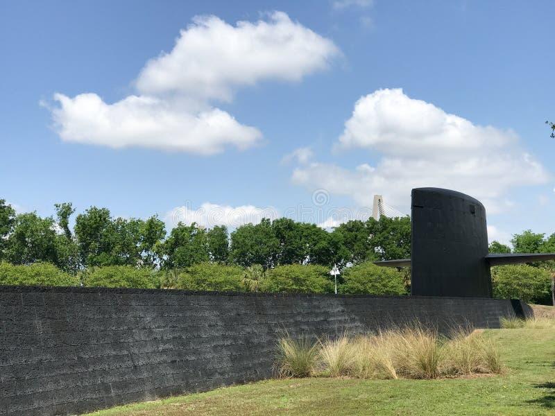 Monumento da guerra fria, ponto do ` s do patriota, PM, SC imagem de stock