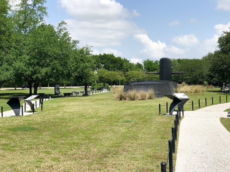 Monumento da guerra fria, ponto do ` s do patriota, PM, SC fotografia de stock royalty free