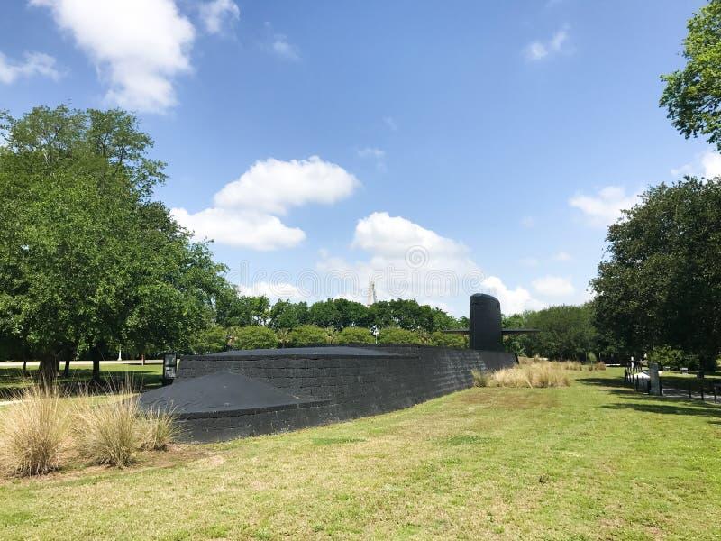 Monumento da guerra fria, ponto do ` s do patriota, PM, SC foto de stock