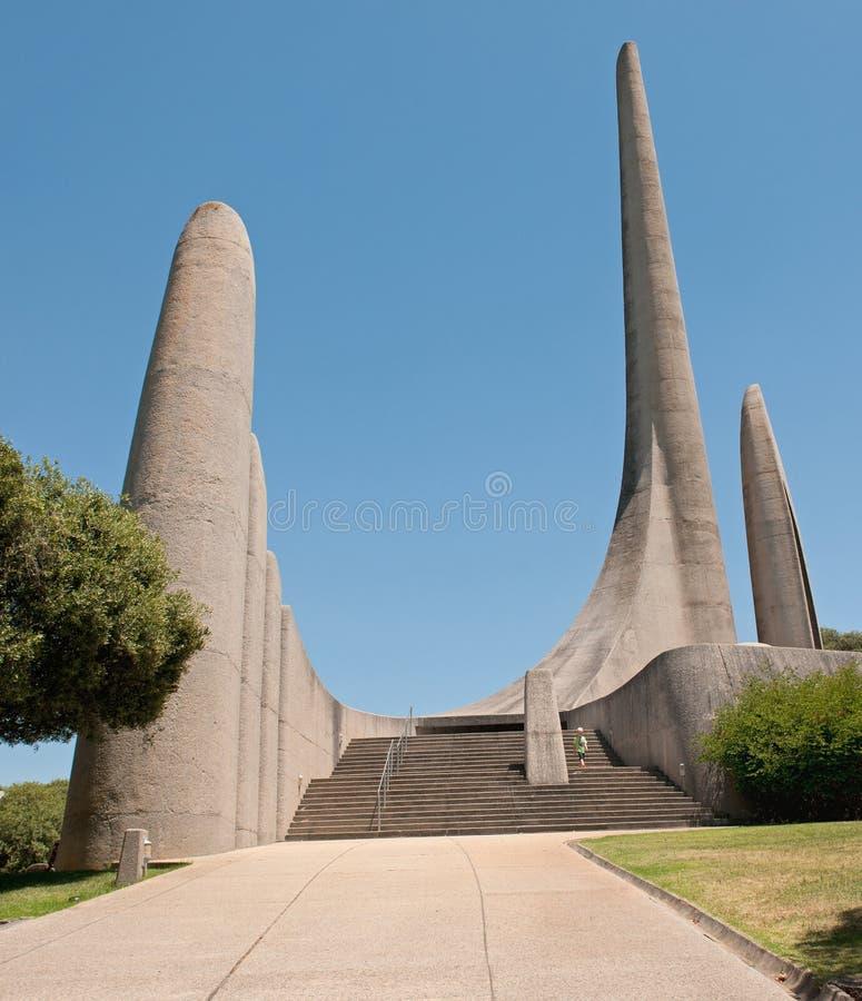 Monumento da língua do holandês sul-africano em Paarl fotografia de stock