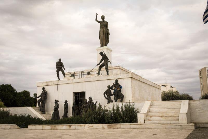 Monumento da liberdade, Nicosia, Chipre imagem de stock royalty free