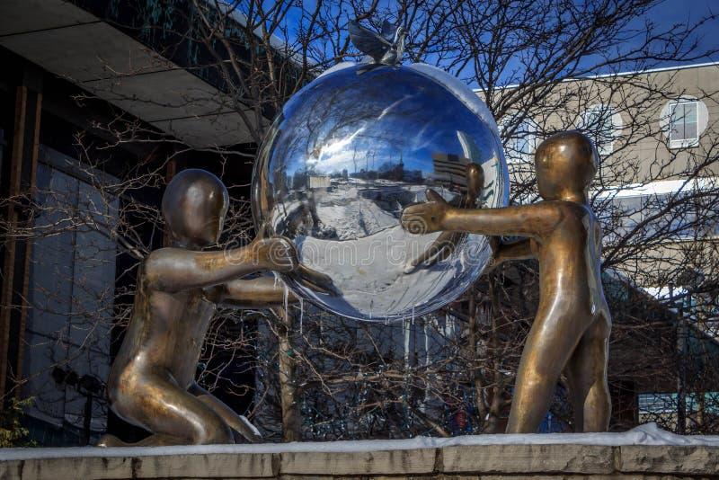Monumento da paz fotos de stock royalty free